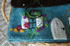 tea cozy felted by bluecatknit, via Flickr