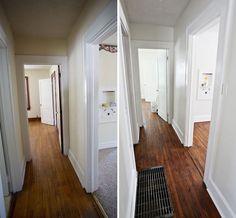 Refinishing Old Wood Floors - Special Walnut