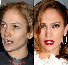 Celebrities Without Makeup - Jenny looks good without make up, kind of girl next door naturalness