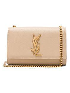 striped logo shoulder bag - Nude & Neutrals Saint Laurent XvG9lI
