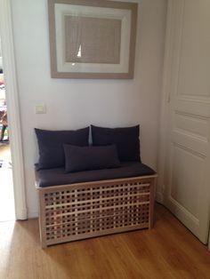 Cacher une litière pour chat avec un meuble Ikea bidouillé (1)
