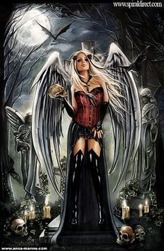 Angel of death for Spiral direct ~ Anna-Marine
