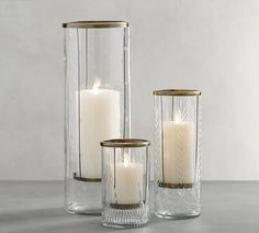 Light up your home with decorative candles from Pottery Barn. Shop pillar, floating, votive and tea candles in stylish colors and patterns. Candles And Candleholders, Tea Candles, Candle Sconces, Pillar Candles, Hurricane Candle Holders, Christmas Candle Holders, Hurricane Glass, Perfume, Luxury Candles