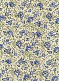 Fabric by Liberty of London tana lawn Felicite DISCONTINUED DESIGN