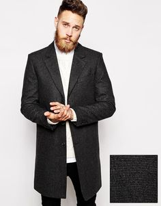 Wool Overcoat by ASOS — Thread