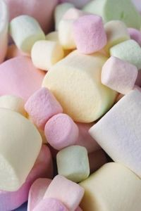 Marshmallows help a sore throat. Try eating a handful every day, but make sure there aren't big ones. Get small; mini marshmallows. -Zoe