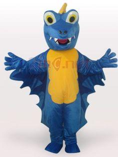$218.05Blue Dinosaur Short Plush Adult #Mascot #Funny #Costume