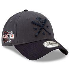 c1623e992a4879 Men's San Diego Padres New Era Graphite/Navy 2019 MLB All-Star Workout  9TWENTY