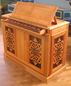 Oh and I want a continuo organ...