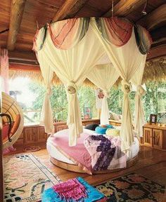 the perfect bed girls room
