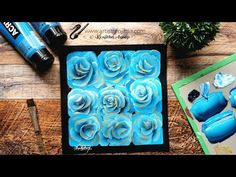 How to paint   ROSES   Simple ways to paint rose?   Quick and easy online acrylic painting ART - YouTube Simple Acrylic Paintings, Acrylic Painting Techniques, Painting Lessons, Painting Art, Painted Cakes, Abstract Canvas Art, Simple Way, Roses, Easy