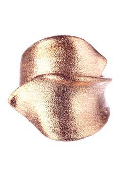 Rose Gold  Ribbon Ring