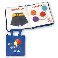 quiet book - simple and fun