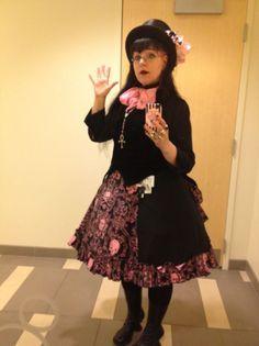 33903a2f194 Miss Jillian Venters from Gothic Charm School. Cupcake Goth extrordinare  Everyday Goth