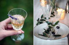 champagne lavender - wedding provence decoration - olive