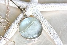 Sands of Time  Shake Necklace  Sterling Silver and by SSMDesign, $176.00