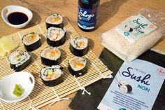 Sushi maken is heel simpel. Als het weer wat warmer wordt buiten, heb ik vaak…