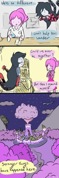 I Wonder by ~Hut2018 on deviantART Bubbline Comic