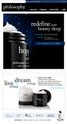 Hope in a Jar Night!!! Transforms your skin while you sleep. Gives you that youthful glow and very moisturizing.