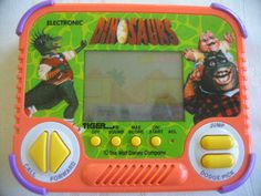 Vintage Tiger Electronics Handheld Dinosaurs Tv Show Video Game Rare