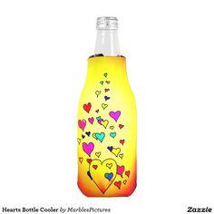 Hearts Bottle Cooler