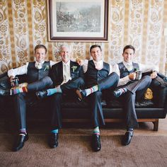 These groomsmen are ready for a great #reception!
