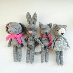 Topito_de_luna on instagram - crochet toys