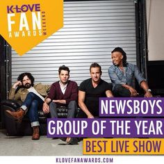 I am so happy for them. They won best group of the year