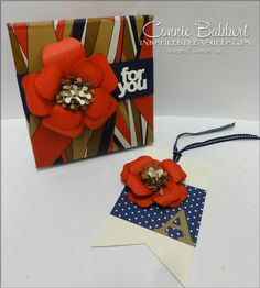 Bouquet Bigz Die, Roommate gift, Leadership, Notepad holder, bag tag, flower, Stampin' Up!, #stampinup, Connie Babbert, www.inkspiredtreasures.com
