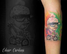 ñejo tattoo new school