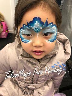 Face Paint Party, Mask Face Paint, Princess Face Painting, Face Painting For Boys, Monkey Face Paint, Frozen Face Paint, Easy Face Painting Designs, Face Painting Flowers, Christmas Face Painting