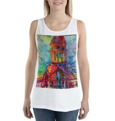 Purchase a tank top to support refugees in Uganda. With every purchase, a portion of the sales goes towards transforming these refugees into entrepreneurs. Available in multiple colors. Uganda, Online Printing, Tank Tops, Colors, Unique, Stuff To Buy, Design, Women, Fashion
