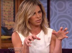 """Jillian Michaels Talks Being """"the Man"""" of the House and Dishes on Future Wedding Plans—Watch Now!  Jillian Michaels, Wendy Williams"""