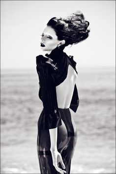 Photographed by Zhang Jingna † Modeled by Denise.    Styled by Mildred von Hildegard of Mother of London.