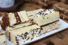 Desert prajitura de vis Dessert Bread, Beignets, Chocolate Cake, Tiramisu, Cheesecake, Food And Drink, Sweets, Ethnic Recipes, Desserts
