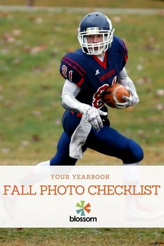 Yearbook Fall Photo Checklist | Blossom