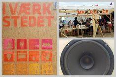 Maker space at Roskilde Festival Denmark 2014