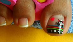 Manicure Y Pedicure, Ants, Beauty, Simple Toe Nails, Pedicures, Nail Art, Nail Manicure, Kittens, Ant