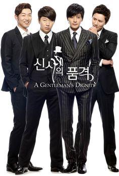 A gentleman's dignity (Jang Dong Gun, Kim Soo Ro, Kim Min Jong, Lee Jong Hyuk, Lee Jong Hyun and Kim Woo Bin)