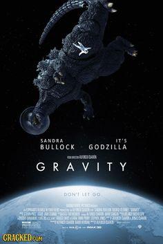 40 Great Movies Made Better by Adding Godzilla   Cracked.com #godzilla