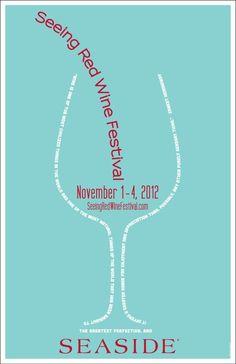 Seeing Red Wine Festival at Seaside Florida in November