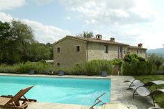 Stone farmhouse with stunning views Voc. Caibizzocco Montone, Perugia, Italy – Luxury Home For Sale