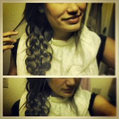 My 6 strand braid.