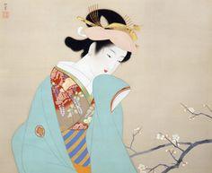 上村松園「春芳」(1940)