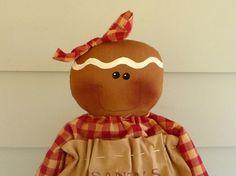 Primitive Lebkuchen Puppe prim raggedy Ingwer von ahlcoopedup