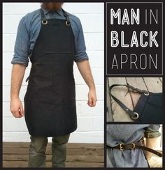 Fathers Day Special - Man In Black Apron