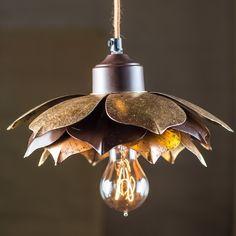 Lotus Pendant Light-Nice for a porch
