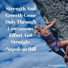 Celebrate the struggle.. you have to know it's simply part of the journey.. there is no way around it.. yet when you get there.. that means your closer to your goals than when you started.. so keep smiling #Fridaymotivation #motivation #NapoleonHill #quotes #keepsmiling http://www.TheOnlineMarketingAngel.com