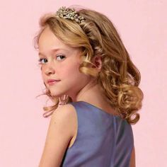 Trendy Curly Kids Hairstyles For Girls March 17 2019 At 06 23am Curly Girl Hairstyles Little Girl Curly Hair Flower Girl Hairstyles