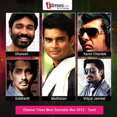 Chennai Times Most Desirable Men 2013 – Tamil is on. Vote for the cool Chennai dudes and help them shine bright in the competition.
